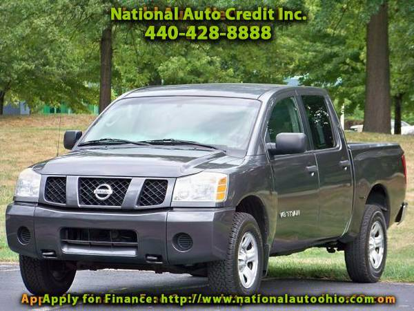 2005 Nissan Titan XE Crew Cab. Off Road Package. Alloy Wheels. FULLY