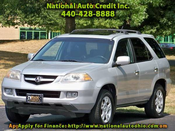 2004 Acura MDX Touring. 1-Owner Vehicle. Heated Leather Seats & P