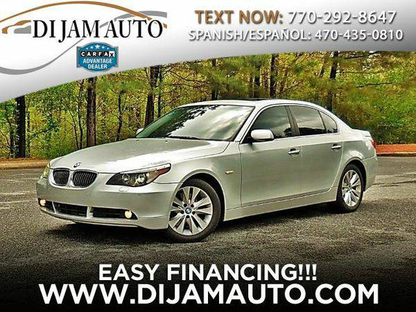 2006 *BMW* *5-Series* 550i - ALL CREDIT WELCOME/Warranty Available