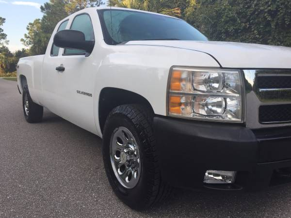 2013 Chevy Chevrolet Silverado 1500 4x4 Work Truck Extended Cab 8 ft.