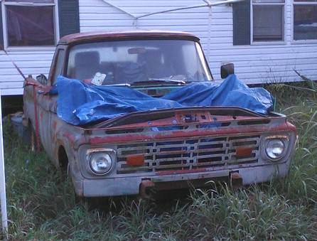 HARD TO FIND 1964 Ford Pickup Shortbed w/SideBed Toolbox