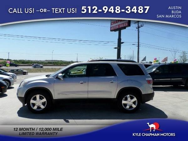 2008 GMC Acadia SLT2-LEATHER-SUNROOF-3RD ROW SUV Acadia GMC