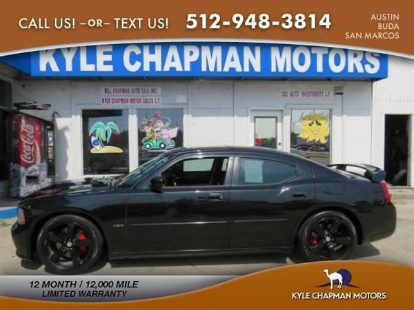 2007 Dodge Charger SRT8,LTHR,6.1L,NAV,RF,20'S,V8 Sedan Charger...