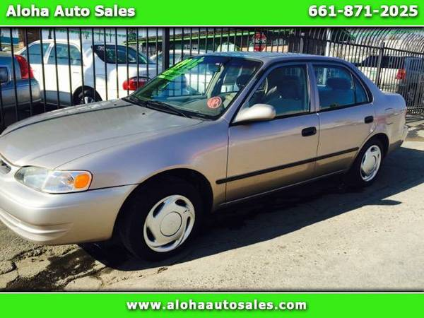 1999 Toyota Corolla LE; Auto & Cold AC. $1K Down Delivers