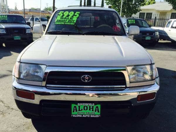 1998 Toyota 4Runner Limited 2WD. Loaded. Leather. V6. Nice