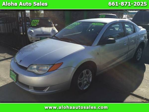 2005 Saturn ION Quad Coupe 2; Automatic. Cold AC. Runs Great!