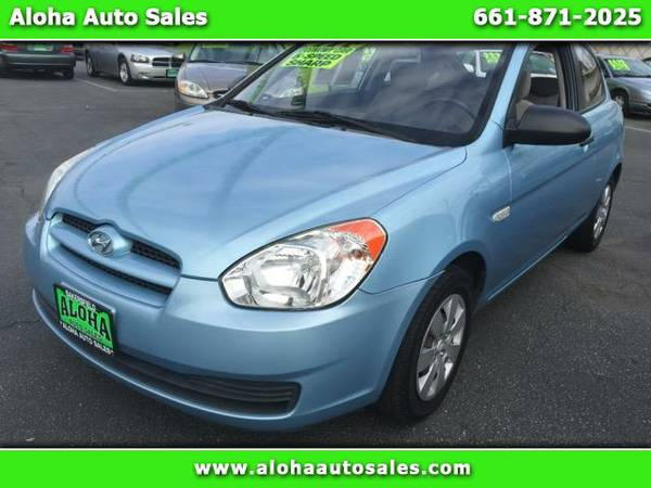 2008 Hyundai Accent GS 3-Door; 35+MPG. LOW MILES!!