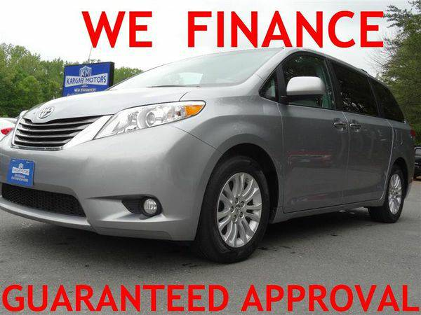 2013 *TOYOTA* *SIENNA* XLE -WE FINANCE EVERYONE! CALL NOW!!!