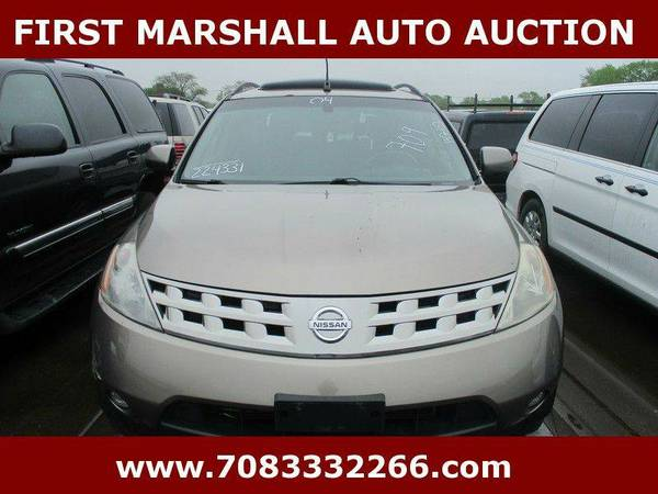 2004 Nissan Murano SE 4dr SUV - First Marshall Auto Auction