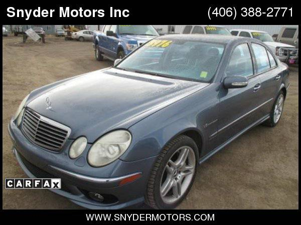 03 Mercedes-Benz E55 AMG Supercharged 469HP ONLY 84k CLEAN!