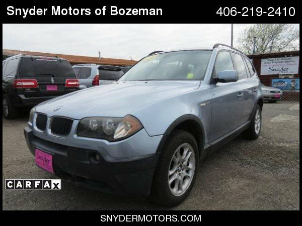 2005 BMW X3 2.5i AWD 4dr SUV Clean/AWD/Panoramic Sunroof/Leather/
