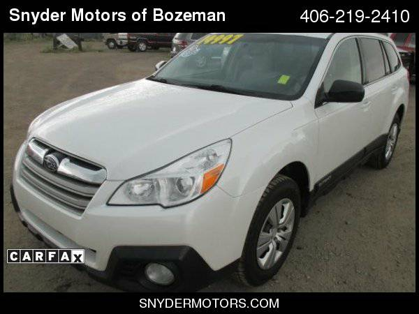 2013 Subaru Outback 2.5i AWD 4dr Wagon CVT SuperClean New Tires!