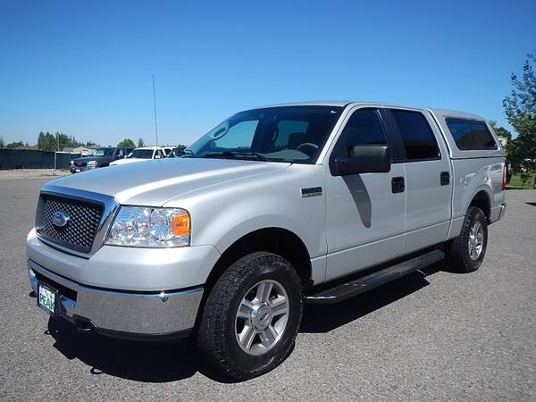 2008 Ford F150 SuperCrew XLT 4x4 96,000 MILES