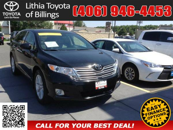 *2010* *TOYOTA VENZA* *BASE* *BLACK*