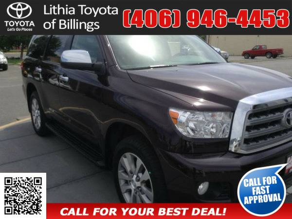 *2012* *TOYOTA SEQUOIA* *LIMITED* *MAROON*