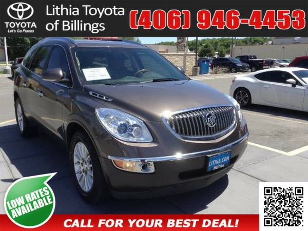 *2012* *BUICK ENCLAVE* *LEATHER GROUP* *COCOA*