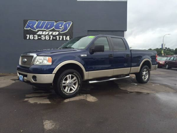 2007 Ford F150 Crew Cab Lariat Package