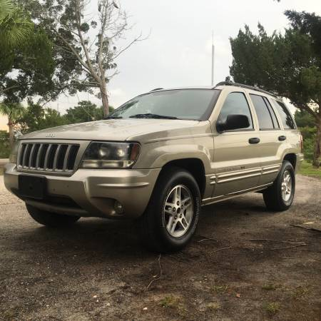 2004 JEEP GRAND CHEROKEE LIMITED SPECIAL EDITION 4x4