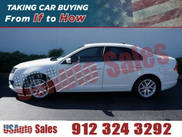 2012 FORD FUSION SEL WHITE