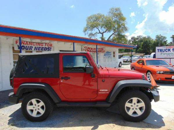 2011 Jeep Wrangler Sport 4X4 100% Financing And Leasing Available