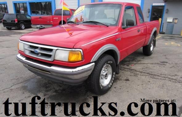 1996 Ford Ranger Sport SuperCab 4WD