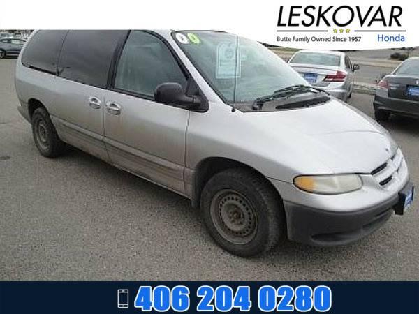*2000* *Dodge Caravan* *Mini-van, Passenger SE* *Bright Silver...