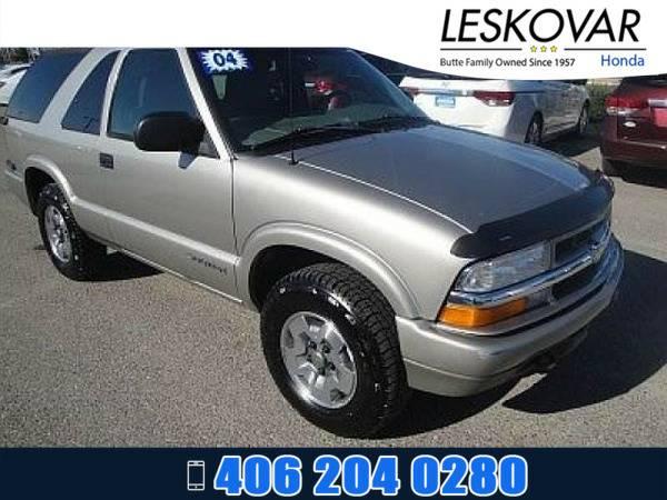 *2004* *Chevrolet Blazer* *Sport Utility LS* *GRAR*