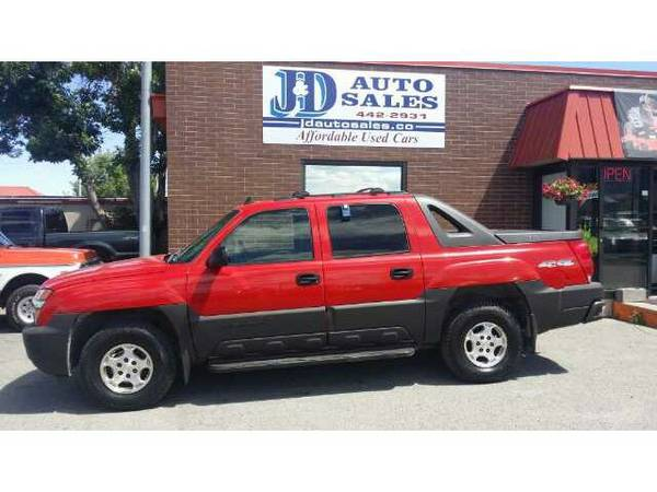 2006 Chevy Avalanche 4WD