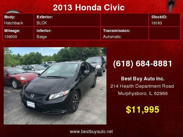 2013 Honda Civic EX w/Navi 2dr Coupe w/Navi Call Steve or Dean at