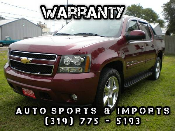 Excellent! 2008 Chevy Avalanche LT - 4WD - XM Radio - Sunroof