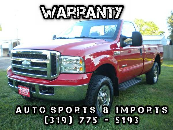 Awesome! 2006 Ford F250 Turbo Diesel XLT - One Owner - Low Miles! 4WD