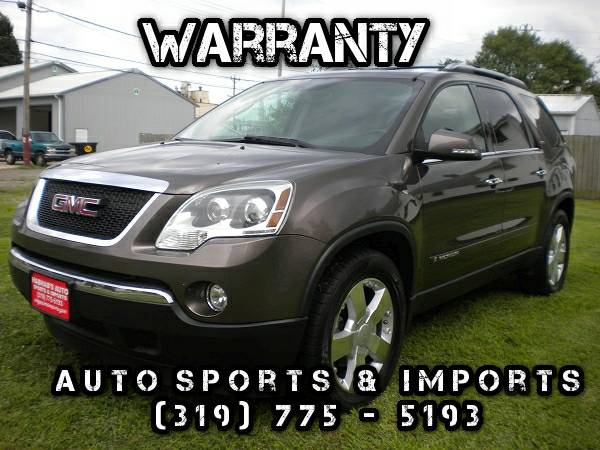 Super Clean! Loaded! 2008 GMC Acadia SLT2-Leather-Navi-Sunroof-DVD