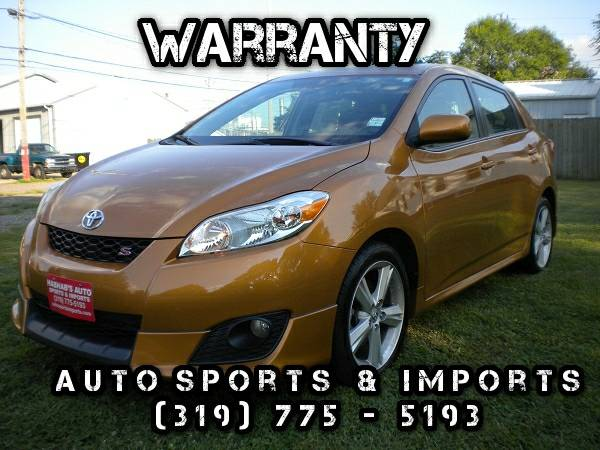 ONE OWNER! LOW MILES! 2009 Toyota Matrix S-Leather-Sunroof -XM Radio
