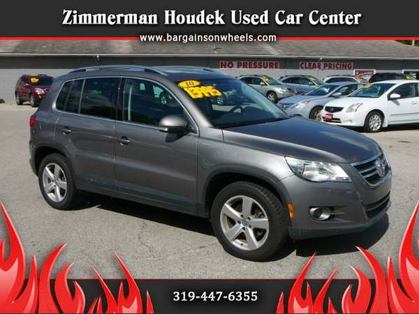2010 Volkswagen Tiguan Wolfsburg Edition** AWD**ONE OWNER**SUNROOF**
