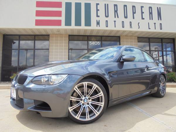 2008 BMW M3 Coupe 6-Speed Manual 414hp