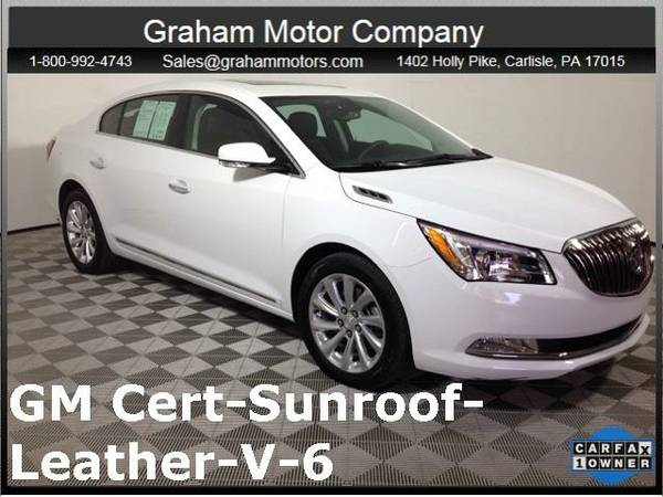 2016 *Buick LaCrosse* Leather Group (White)