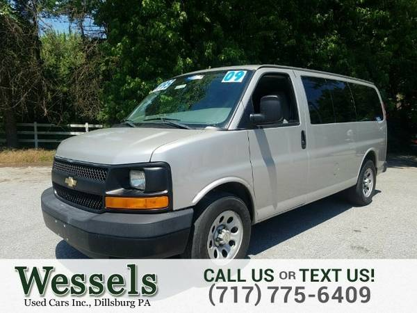 2009 Chevrolet Express Passenger Van Express Passenger Chevrolet
