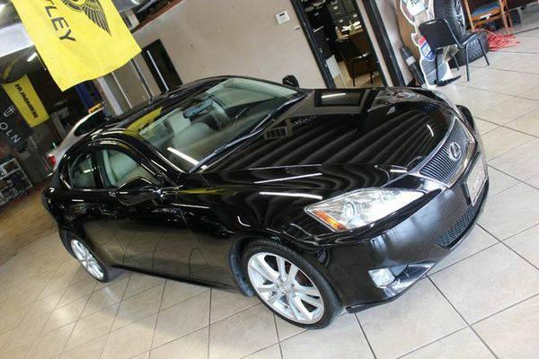 2007 *Lexus* *IS* *250* Base 4dr Sedan (2.5L V6 6A)