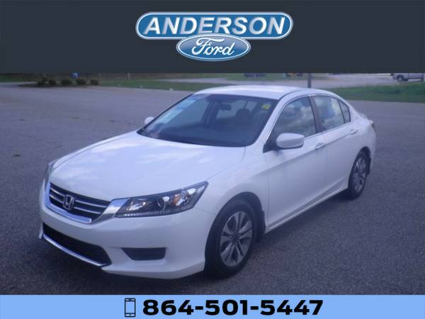 *2015* *Honda Accord LX* *White*