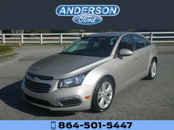 *2016* *Chevrolet Cruze Limited LTZ* *Silver*