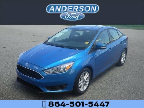 *2015* *Ford Focus SE* *Blue*