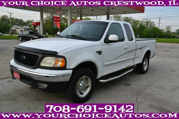 2000 FORD F150 XLT 4WD EXTENDED CAB LB CD CRUISE ALLOY GUD TIRE A54573