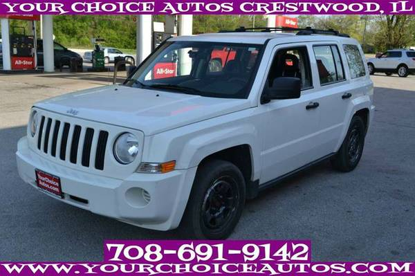 2009 JEEP PATRIOT SPORT SUV GAS SAVER CD CRUISE CUSTOM ALLOY 135611