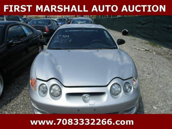 2001 *Hyundai* *Tiburon* -🔥Auction Pricing 🔥