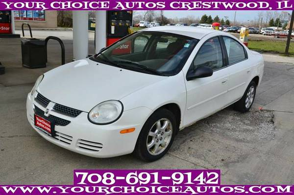2005 DODGE NEON SXT GAS SAVER AC CD ALLOY GUD TIRES LOW PRICE 167131