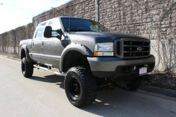 2003 *Ford* *LIFTED* *F-250* *w/* *Exhaust* *Stack* XLT Crew Cab Long
