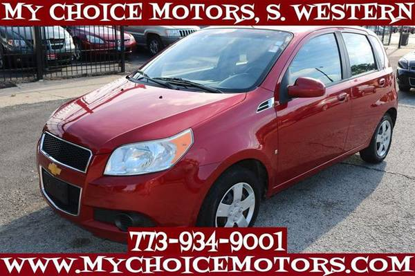 2009 CHEVROLET AVEO AVEO5 LS HATCHBACK GAS SAVER 1OWNER 61K 311475