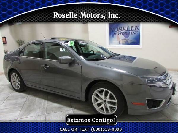 2011 Ford Fusion I4 SEL - Consigue Interes Bajo - Low Interest Rates