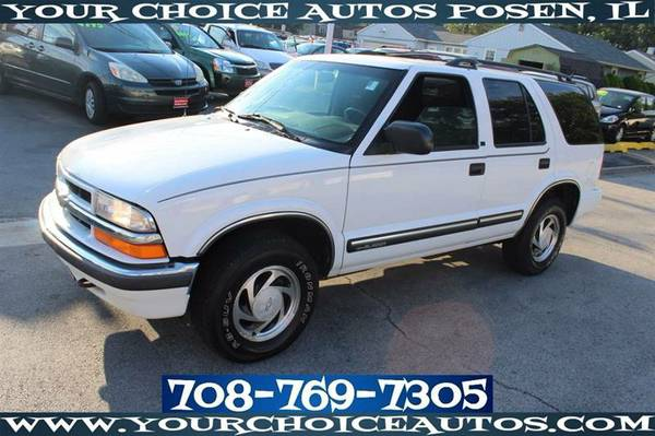 2001 CHEVROLET BLAZER TRAILBLAZER 4WD KYLS ENTRY ALLOY GUD TIRE 189744