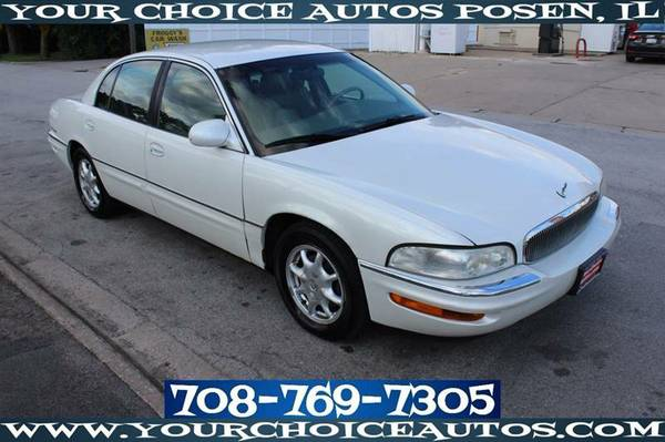 2000 BUICK PARK AVENUE LEATHER CD ALLOY GOOD TIRE LOW PRICE 187179